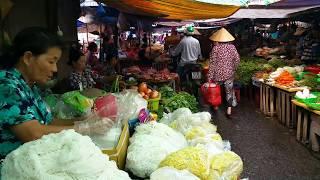 CHỢ CHÂU ĐỐC ngày giáp tết 2019 #1 | Chau Doc market
