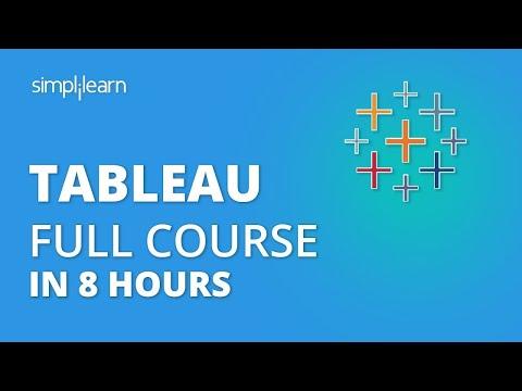 Tableau Full Course In 8 Hours | Tableau Tutorial | Tableau Training ...