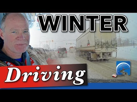 Winter Driving - Staying Safe On Snow And Ice :: SS #58