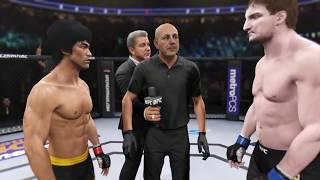 Bruce Lee vs. Stipe Miocic (EA sports UFC 2) - CPU vs. CPU