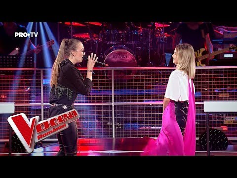 , title : 'Maria vs Eva - Don't let me down | Confruntarea 4 | Vocea Romaniei 2018'