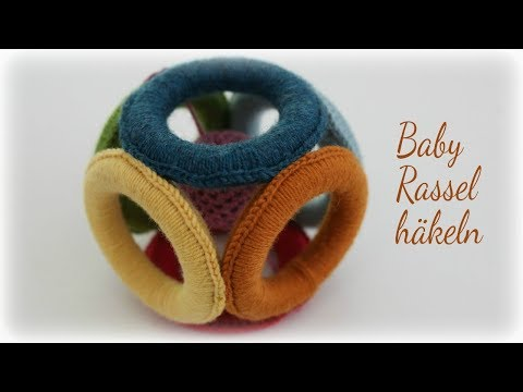 Babyrassel häkeln * DIY * Baby Rattle [eng sub]