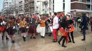 preview picture of video 'Tribalatam au carnaval de Valence 2015'