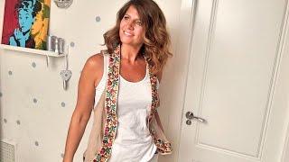 Convierte Una Camiseta Con Agujeros En Un Glamuroso Chaleco