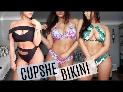 CUPSHE BIKINI TRY ON HAUL – CURVY – HONEST REVIEW 2018