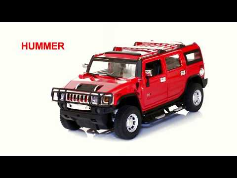 Мод. маш. 1:24 Hummer H2 26020A