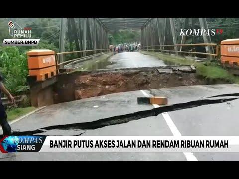 Banjir Bandang Konawe Utara, Jembatan Trans Sulawesi Putus