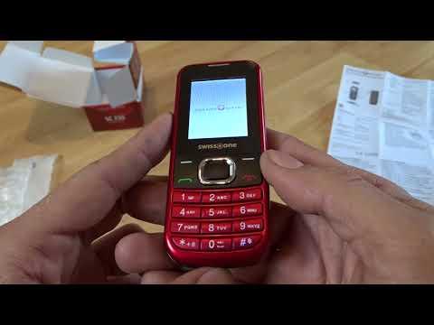 20€ Handy - Swisstone SC230 für Notfälle, Senioren und Ersatz # Unboxing Review Deutsch