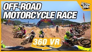 [Action 360] Off road motorcycle race!