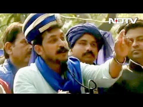 चंद्रशेखर रावण की बहुजन हुंकार रैली, कहा- दिल्ली की गद्दी छूने नहीं देंगे