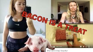 Tanya Burr - What I Eat In A Day   My Response