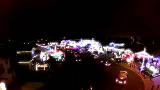 Bainbridge Christmas Lights Flight 2014