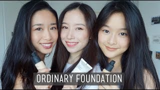 $6 Foundation?! L The Ordinary Serum Foundation Review - Dry/Combo/Oily Skin