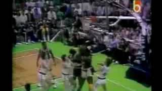 Los Angeles Lakers V. Boston Celtics - Game 2, 1984 NBA Finals