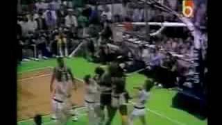 Los Angeles Lakers V. Boston Celtics - Game 2, 1984 NBA Finals