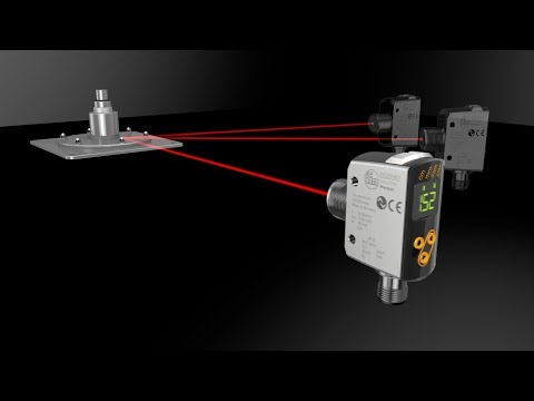 Precise ifm laser distance sensors with PMD ToF technology