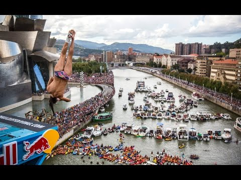 Red Bull Cliff Diving World Series 2014 - Action Clip - Bilbao, Spain