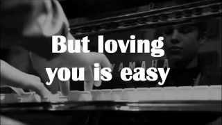 Austin Mahone - Loving You Is Easy [full ver.] Lyric Video