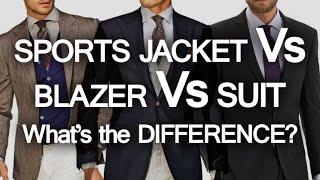 Sports Jacket - Blazer - Suit - What