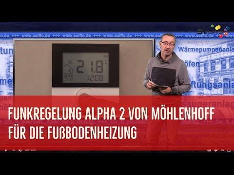 Funkregelung für Fußbodenheizung Alpha 2 von Möhlenhoff
