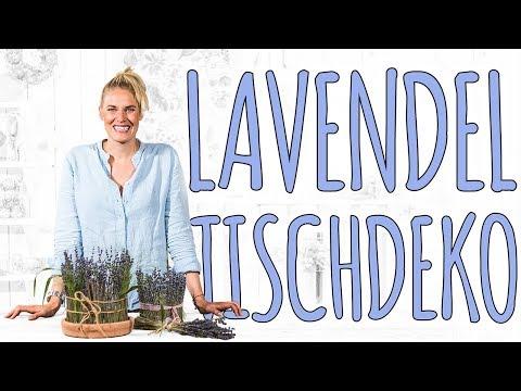 LAVENDEL DEKO - SCHNELL UND EINFACH - DIY