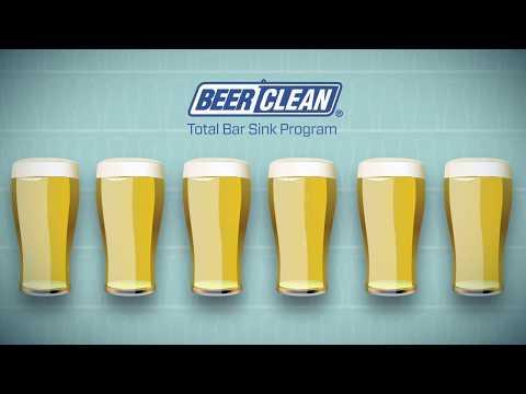 Beer Clean® Total Bar Sink Program