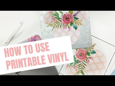 graphic relating to How to Use Printable Heat Transfer Vinyl Cricut named Obtain How In the direction of Employ Printable Vinyl With Your Cricut