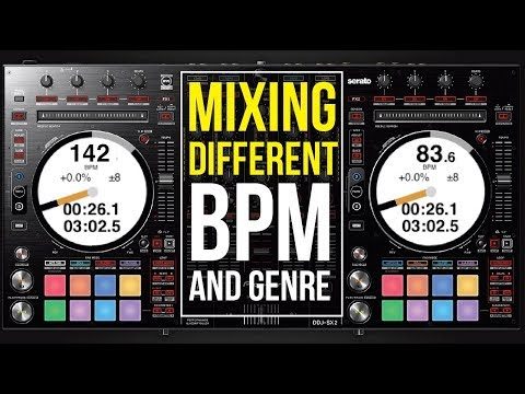 MIXING DIFFERENT BPM AND GENRE - 5 TOP BPM TRANSITIONS Mp3