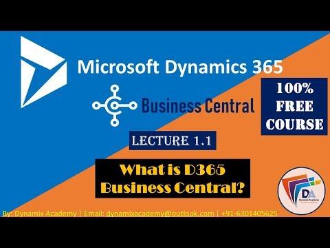 Microsoft Dynamics 365 Business Central Training by Dynamix ...