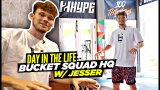 Day In The Life w/ 2Hype's Jesser & The INSANE BUCKET SQUAD MANSION!!
