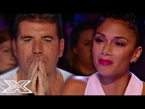 """Watch """"His Voice Is So Emotional That Even Simon Started To Cry!"""" on"""