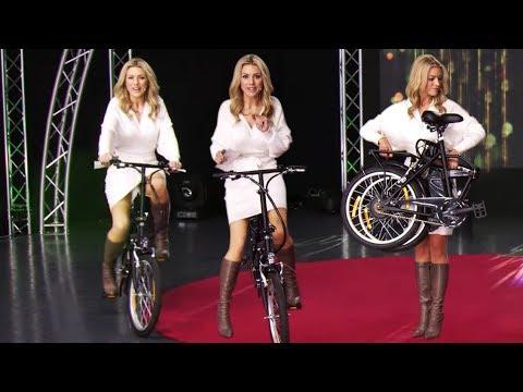 Katie Steiner schafft kilometerweite Fahrradtouren! Bei PEARL TV (Februar 2019) 4K UHD