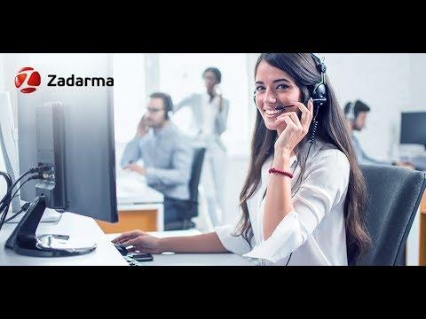 Видеообзор Zadarma