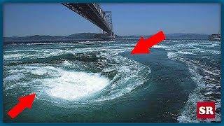 Top - 9 самых опасных водоворотов океана!