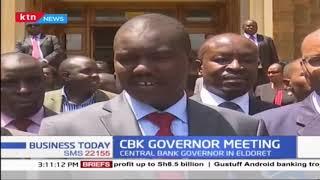 CBK Governor meets Governor Mandagor in Eldoret