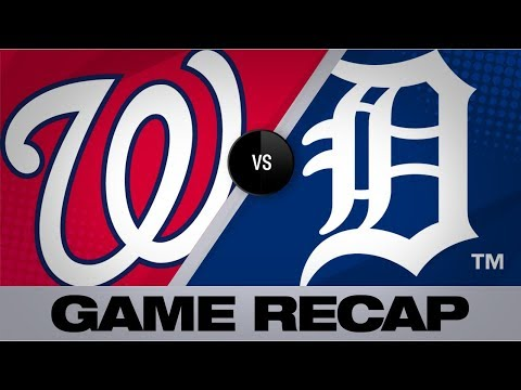 Sanchez leads Nationals to win vs. Tigers | Nationals-Tigers Game Highlights 6/28/19