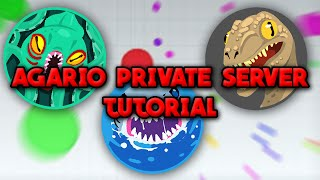 How To Make An AGARIO PRIVATE SERVER| Windows 10 (OUTDATED)