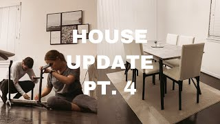 House Update: Overstock Dining Chairs, Rug And Placemats