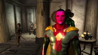 The Avengers Vision race skyrim LE testing for Earth 9811 mod
