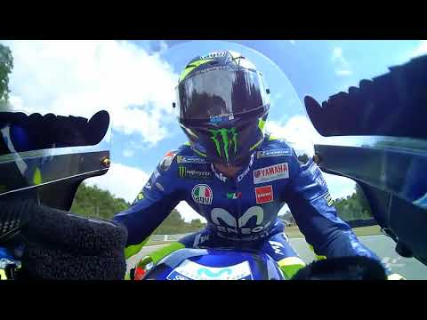Movistar Yamaha discuss the German GP