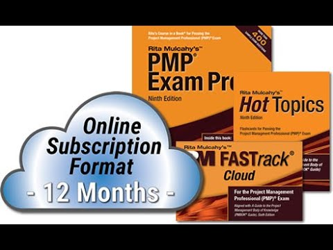 RMC's NEW PMP® Exam Prep System - Online Subscription Format