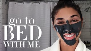 Chantel Jeffries' Nighttime Skin Care Routine | Go to Bed With Me | Harper's BAZAAR