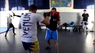 Préparation Keven boxe anglaise / FAIRFAX 2015