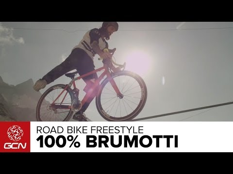 100% Brumotti Road Bike Freestyle - VIDEO