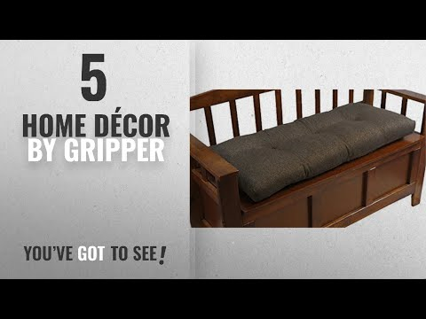 Top 10 Home Décor By Gripper [ Winter 2018 ]: The Gripper Non-Slip Tufted Omega Universal Bench