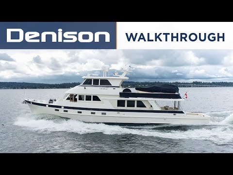 Alaskan Custom Skylounge Pilothouse video