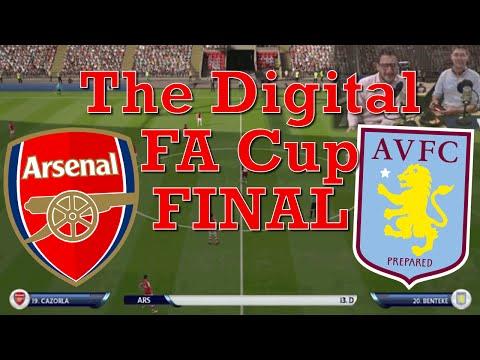 Arsenal v Aston Villa - in the Digital FA CUP FINAL! AAAHHH!