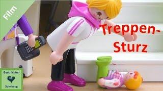 Playmobil Film Deutsch ELLA STÜRZT DIE TREPPE RUNTER ♡ Playmobil Geschichten Mit Familie Miller