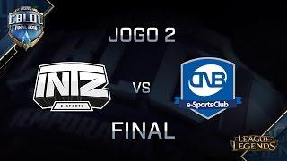 INTZ x CNB (Final - Jogo 2) CBLoL 2016 - 2ª Etapa