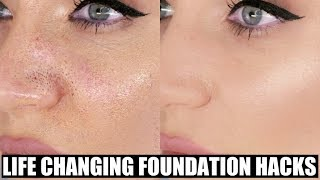 What is better for applying foundation